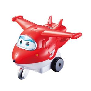 FIGURINE - PERSONNAGE SUPER WINGS Vroom'n'Zoom  - Avion JETT à friction