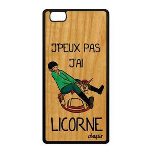 Coque portable huawei p8 lite licorne