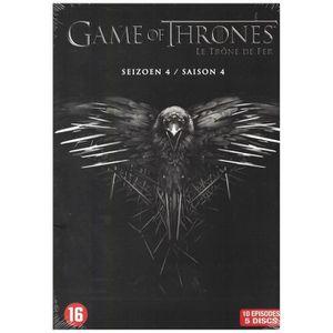 DVD SÉRIE Game Of Thrones - Saison 4 (DVD)