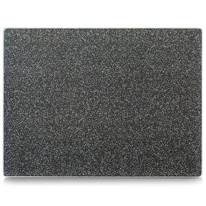"""PLANCHE A DÉCOUPER planche à découper en verre """"citron"""" 40 x 30 cm, Z"""