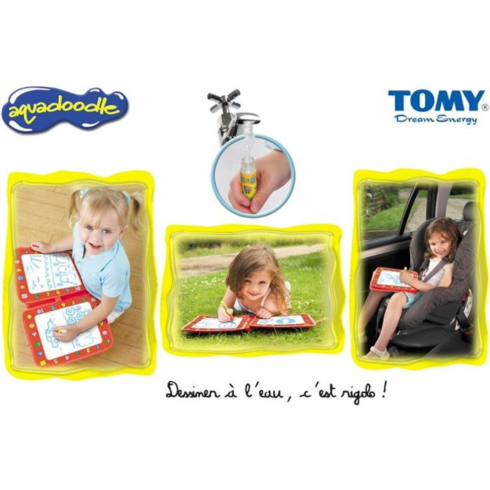 valisette de voyage aquadoodle tomy achat vente ardoise enfant cdiscount. Black Bedroom Furniture Sets. Home Design Ideas