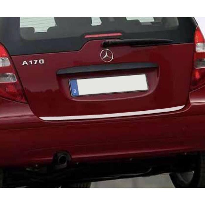 Baguette de coffre chromée Mercedes Classe A W169 04-08,W169 Phase 2 08-12,W176 12-18,W177 18-19
