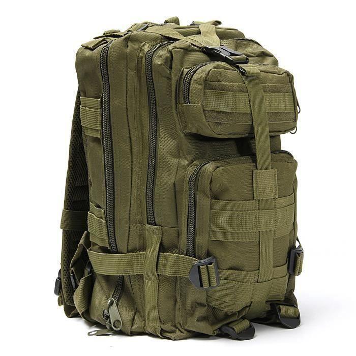 30L Sac à Dos Militaire Tactique Chasse Escalade imperméable sac à dos Camping randonnée 3 WYK78079