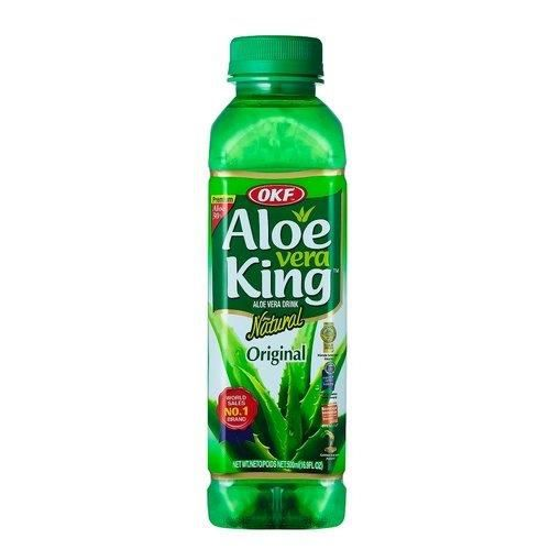 OKF Aloe Vera Juice King boisson gazeuse- 500ml x 20 bouteille
