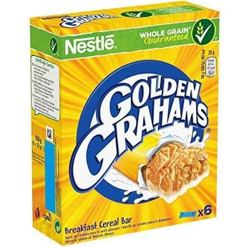 GOLDEN GRAHAMS Barres Céréales Et Lait 150G Lot De 4 Livraison Gratuite 55