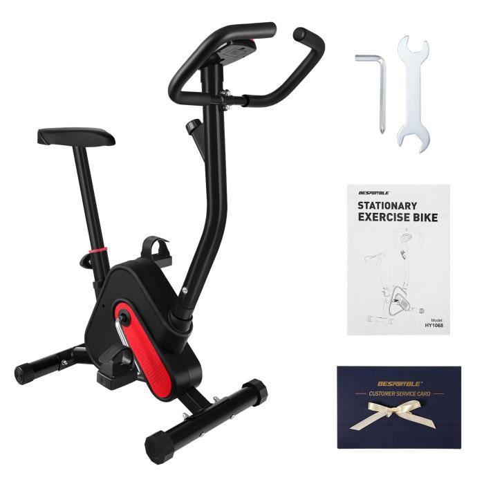 BESPORTBLE Vélos d'appartement -102X65X41 cm (Rouge Noir)