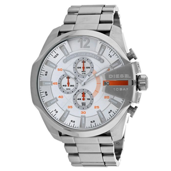 Montre Bracelet DIESEL Men's Mega Chief DZ4328 Watch KNGEP