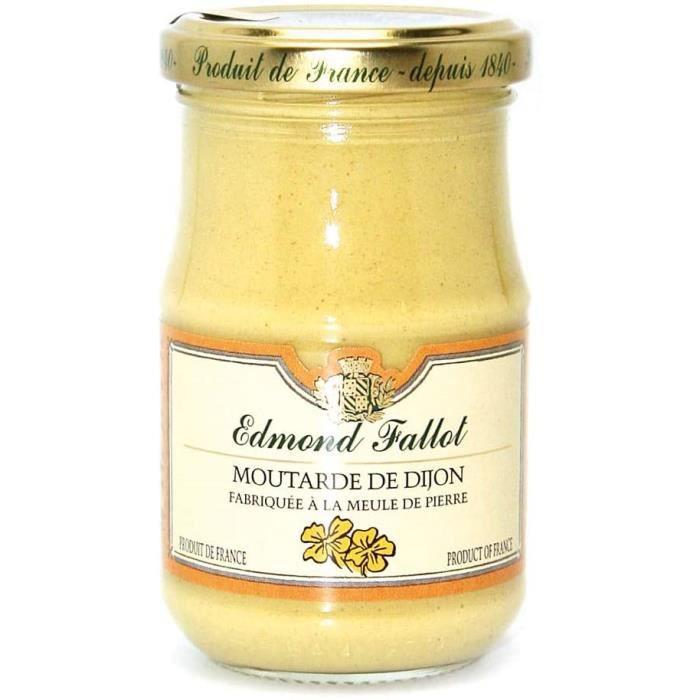 Moutarde de Dijon Fallot - Bocal de 210g