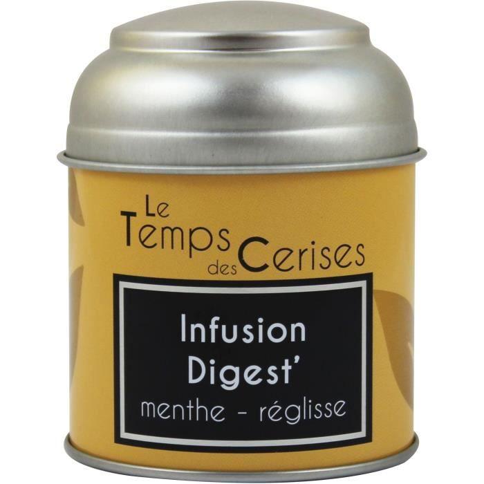 LE TEMPS DES CERISES Infusion Digest Boite Métal 30g