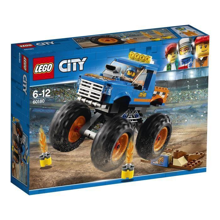 Lego Ville Véhicules monstre blocs de construction de camions pour les enfants 5 à 12 ans (192 Pcs) 60180 Y4FW9