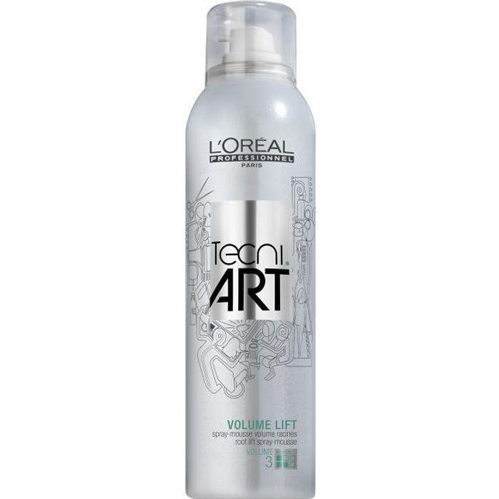 L'Oréal Professionnel Spray-mousse volume racines Volume Lift Tecni Art 250ml, Coiffant Cheveux Spray Volume
