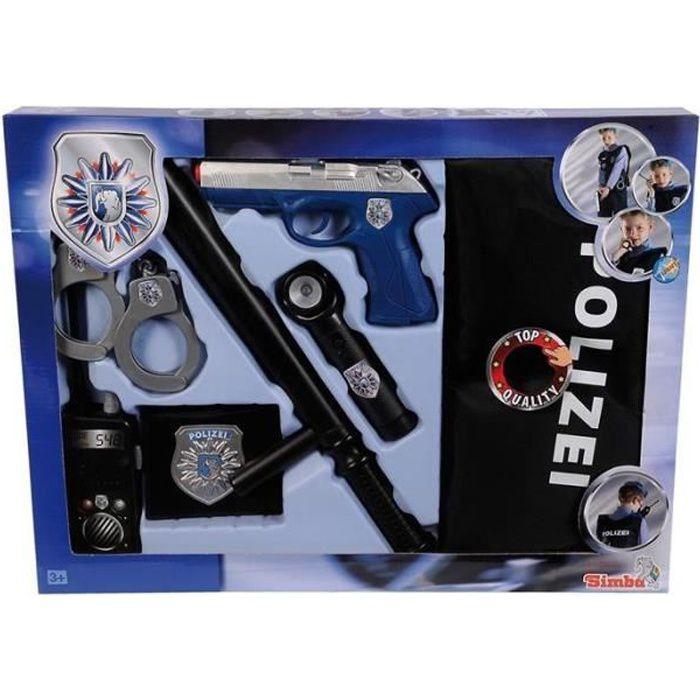 Simba Toys 108102665 Simba - Set de Police - Commando d'intervention
