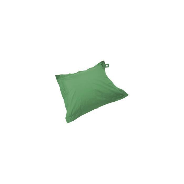 Housse vide de coussin de jardin Solys XL Polyester Vert
