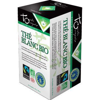 Touch Organic The blanc BIO 24 sachets 48g