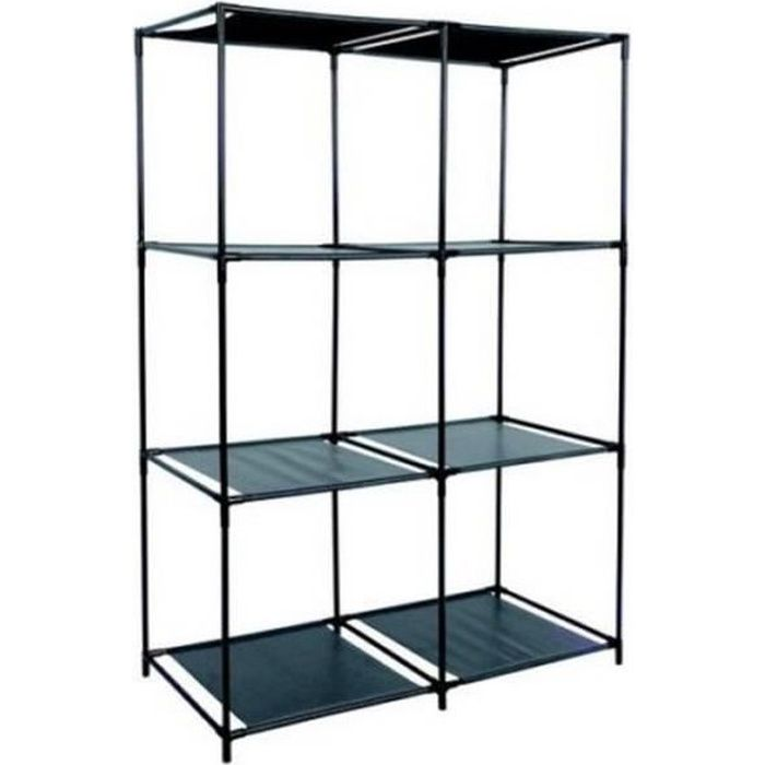 etagere meuble de rangement 6 casiers pour v tement 13 kgs. Black Bedroom Furniture Sets. Home Design Ideas