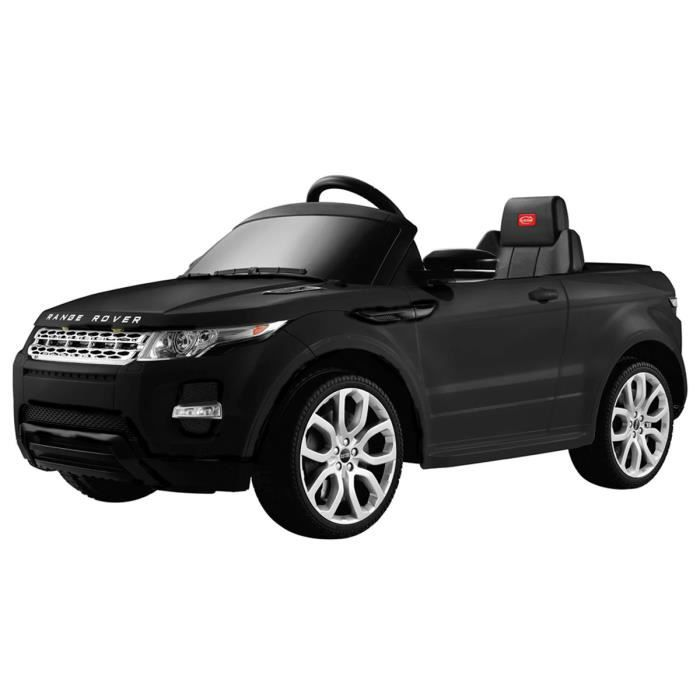 voiture lectrique 12 v style range rover t l commande enfant noir blanc achat vente. Black Bedroom Furniture Sets. Home Design Ideas