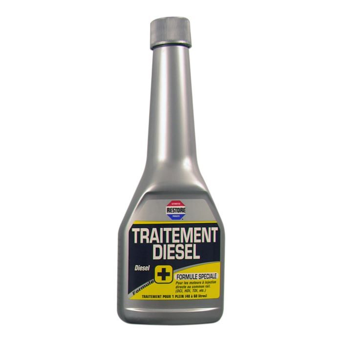 traitement diesel 250ml restore achat vente additif traitement diesel 250ml. Black Bedroom Furniture Sets. Home Design Ideas