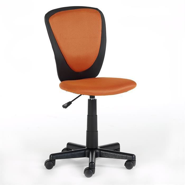 fauteuil de bureau pour enfant heino orange achat. Black Bedroom Furniture Sets. Home Design Ideas