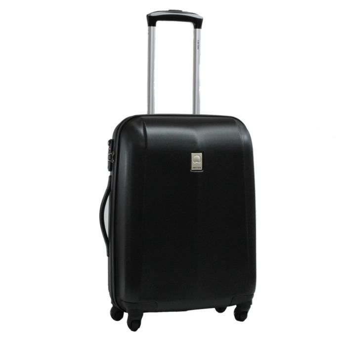 valise delsey cabine rigide extendo 50 cm noir bleu achat vente valise bagage soldes. Black Bedroom Furniture Sets. Home Design Ideas
