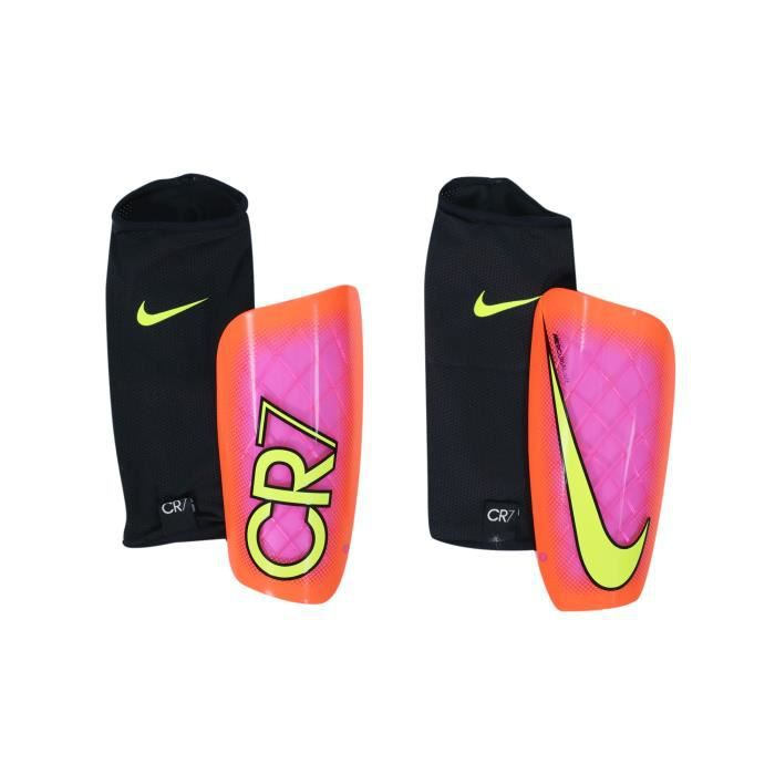 Protège-tibias Nike Mercurial CR7 Rose/Orange
