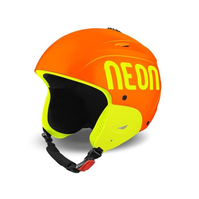 casque de ski neon wild plus orange yellow fluo prix. Black Bedroom Furniture Sets. Home Design Ideas