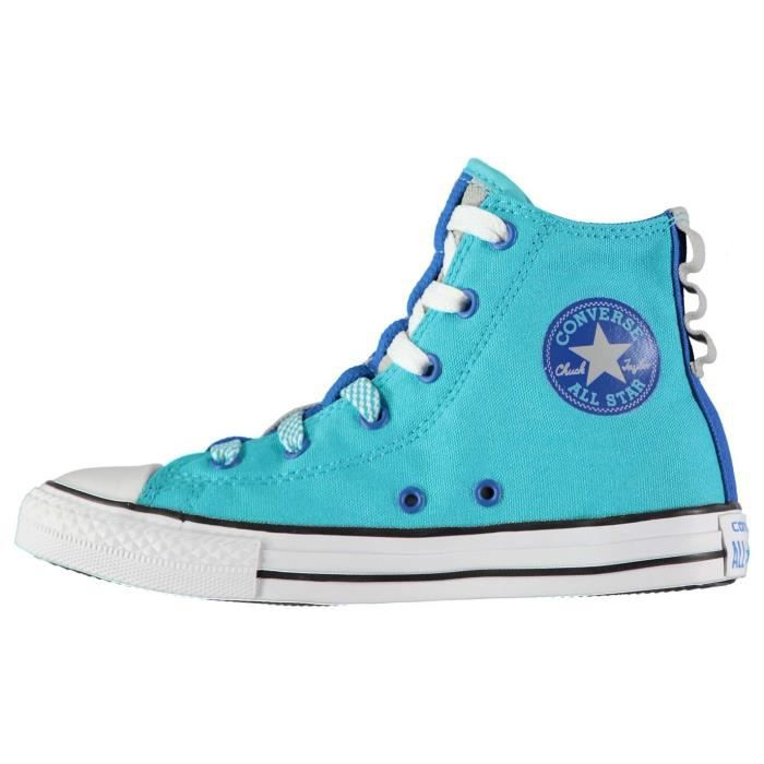 Converse Chuck Taylor All Star Ox, Baskets mode mixte enfant - Turquoise, 30 EU