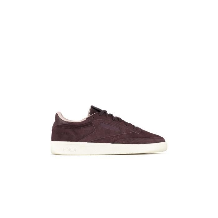 Baskets Reebok Club C 85 W&w Bordeaux Femme Nanb8bm5