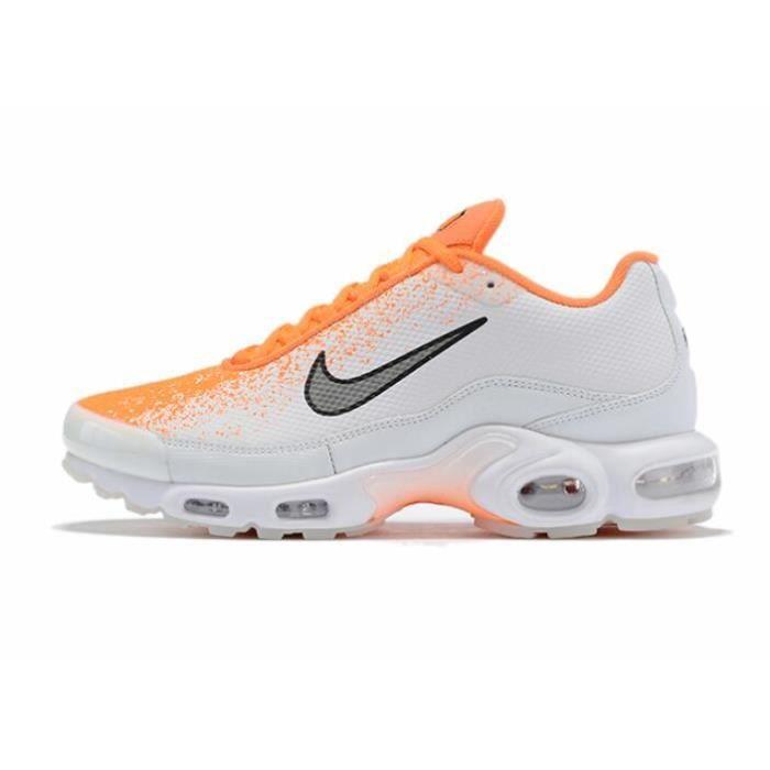 Nike Air Max Plus Tn SE Chaussure pour Homme Blanc Orange ...