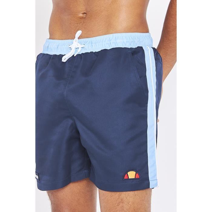 Bleu-L ellesse Short de Bain Genoa Bleu Marine SHE08547