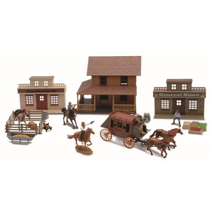 Newray Coffret Western Diligence Achat Vente Voiture Camion