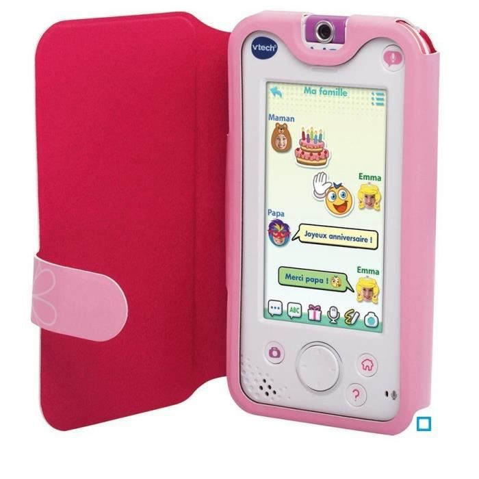 vtech digigo etui de protection rose achat vente
