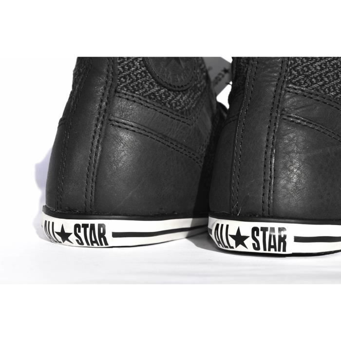 CONVERSE ALL STAR SLIM OVERLAY TISSU & CUIR