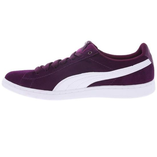 Puma Vikky Platform Sneaker Femmes Chaussures 363287 Violet Olive Marteau Prix