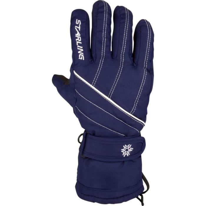 STARLING Gants de Ski Adulte - Marine