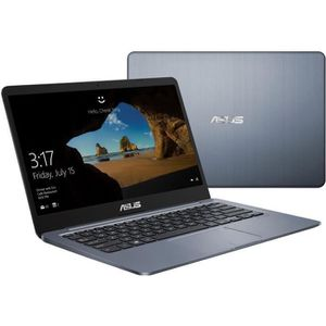 Vente PC Portable ASUS PC portable Ultrabook E406MA-EK065T - 14' Full HD - Pentium N5000 - RAM 4Go - Stockage 128Go - Windows 10 home S inclus pas cher