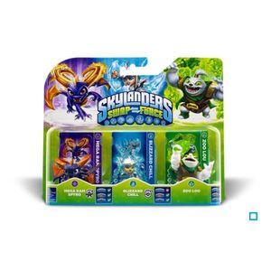 FIGURINE DE JEU Triple Pack B Skylanders Swap Force