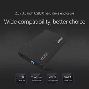 TABLETTE TACTILE Boîtier de disque dur externe USB 3.0 vers SATA 3.