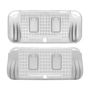 HOUSSE DE TRANSPORT Blanc TPU Coque arrière de protection avec 2 empla