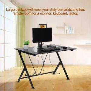 BUREAU  Bureau d'ordinateur portable moderne Meubles de ta