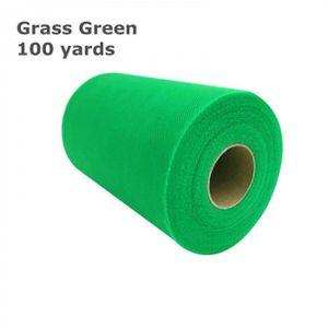 BANDEROLE - BANNIÈRE Version Grass Vert - Rouleau De Tulle   15 Cm * 10