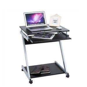 MEUBLE INFORMATIQUE Bureau Informatique Roulant Bureau d'ordinateur Me