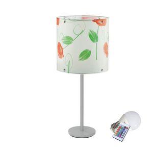 LAMPE DE JARDIN  Lampe de table LED RVB espace intérieur extérieur
