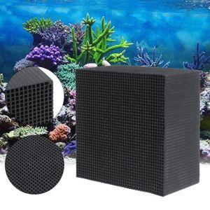 AQUARIUM Aquarium Eco-aquarium Purificateur d'eau Cube Char
