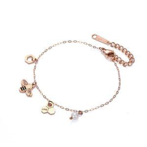 bracelet femme rigide avec bloqueur