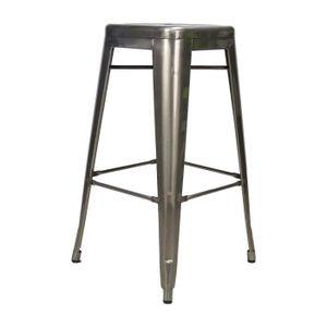 TABOURET DE BAR Tabouret de bar Industriel Blade métal