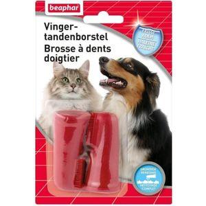 SOIN POUR ANIMAUX BEAPHAR Brosse à dents doigtier - Pour chien et ch
