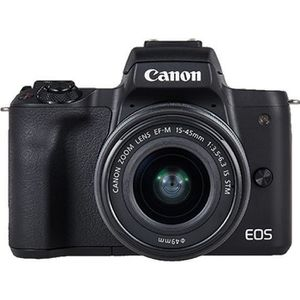 APPAREIL PHOTO HYBRIDE Canon EOS M50 Value-up Kit appareil photo numériqu