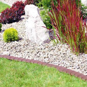 rebord de jardin Aspect granit laiton ou palissade Set Bordure de jardin
