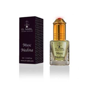 EAU DE PARFUM EL NABIL 5ml Musc Medina 100% huile