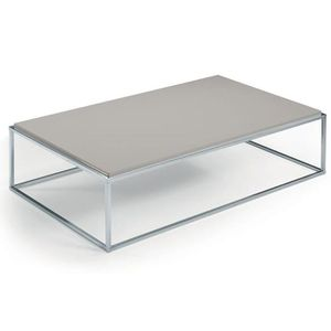 TABLE BASSE Table basse MIMI rectangle taupe